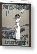 Womens Rights Greeting Card