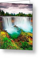Wonderful Places In The World Greeting Card