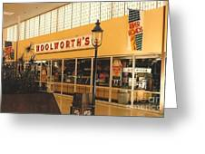 Woolworth's Store At River Roads Mall  Greeting Card
