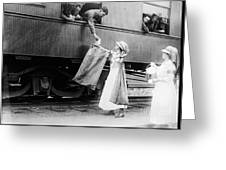 World War I: Red Cross Greeting Card