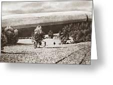 World War I: Zeppelin Greeting Card