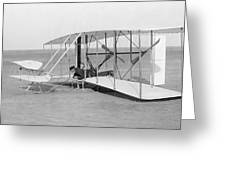 Wright Brothers Glider Greeting Card
