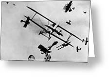 Wwi: Dogfight Greeting Card