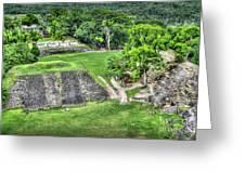 Xunantunich, Ancient Maya, Archaeological Site Greeting Card