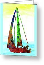 Yachtsman Greeting Card