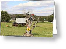 Yard Art 115 Greeting Card