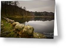 Yew Tree Tarn Greeting Card
