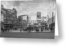 Yonge Dundas Square Greeting Card