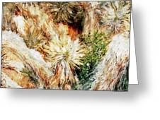 Yucca Cool Patch  Greeting Card