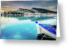 Zaante Town, Zakinthos Greece Greeting Card