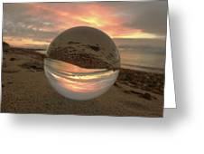 10-27-16--1914 Don't Drop The Crystal Ball, Crystal Ball Photography Greeting Card