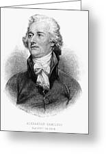 Alexander Hamilton Greeting Card by Granger