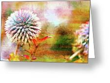 American Beach Cottage Art And Feelings Greeting Card
