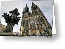 Cologne Germany Greeting Card