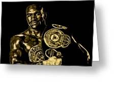 Evander Holyfield Collection Greeting Card