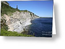 Forillon National Park Greeting Card