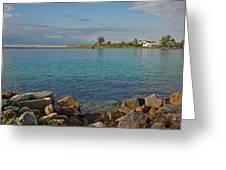 10- Lake Worth Inlet Greeting Card