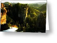 Landscape Modern Greeting Card