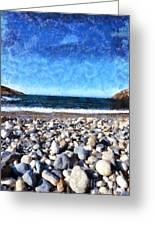 Livada Beach Greeting Card