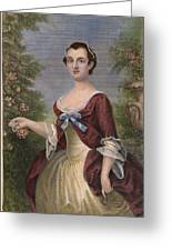 Martha Washington Greeting Card by Granger