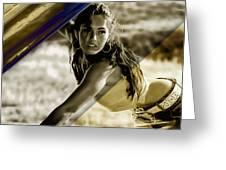 Megan Fox Collection Greeting Card