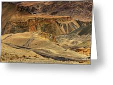 Moonland Ladakh Jammu And Kashmir India Greeting Card