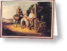 North Carolinaimmigrants Poor White Folks James Henry Beard Greeting Card