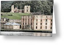 Port Arthur Building In Tasmania, Australia. Greeting Card