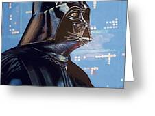 Star Wars 3 Poster Greeting Card