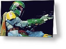 Star Wars At Art Greeting Card