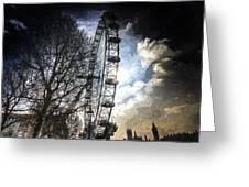 The London Eye Art Greeting Card