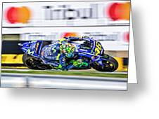 Valentino Rossi The Doctor  Greeting Card