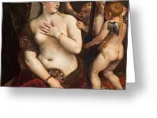Venus With A Mirror Greeting Card