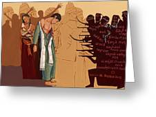 100 Years Of Genocide Greeting Card