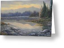 100408-1224  Evening Serenity Greeting Card