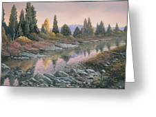 100501-1224  Autumn Reflections Greeting Card