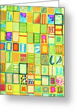 101 Images Greeting Card