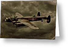 103 Squadron Avro Lancaster Greeting Card