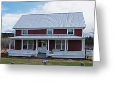 108 Mile Road House Greeting Card