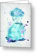 10805 Cloudy Day Greeting Card