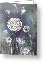 #1083 Wild Flower #1 Greeting Card