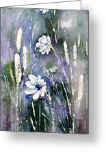 #1084 Wild Flowers #2 Greeting Card