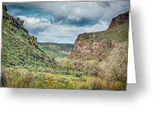 10901 Owyhee Canyon Greeting Card