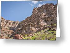 10902 Owyhee River Canyon Greeting Card