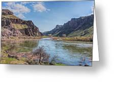 10905 Oregons Owyhee River   Greeting Card