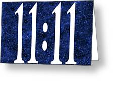 11 11 Greeting Card