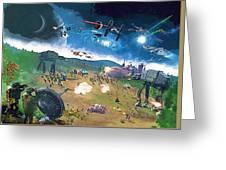 2 Star Wars Poster Greeting Card