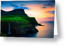 Art Landscape Oil Greeting Card