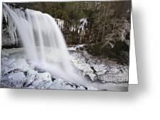 Dry Falls - Highlands, Nc Greeting Card