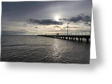 Frankston Beach Greeting Card